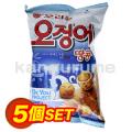イカピーナッツ お菓子【5個SET】■韓国食品■1804-1