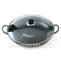コーティングすき焼き用鍋30cm■韓国食品■3289