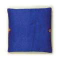 座布団カバーのみ「紺色」■韓国食品■2561