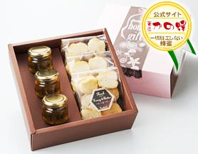 【蜂蜜ギフト】ハチミツラスクギフトセット バター風味