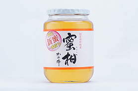 【予約販売】国産新蜜プレミアムみかん蜂蜜1000g【発送日6/14~】