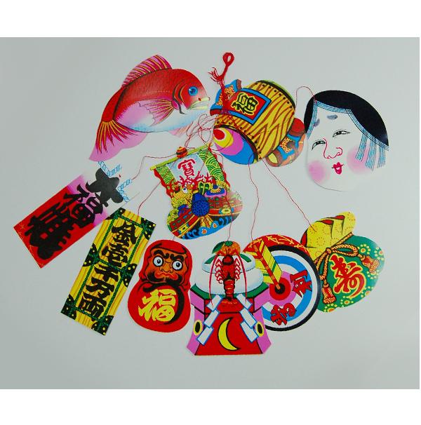 糸付き平物  大 (小平)10枚組