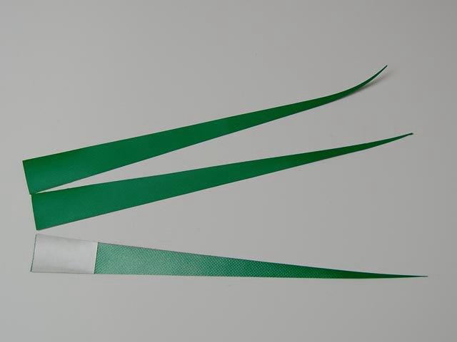 さんさ花笠用ビニール製「ガク」3枚セット