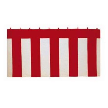 紅白幕2間180cm(360cmx180cm)