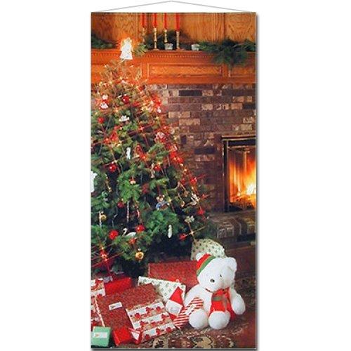 クリスマスイルミネーションタペストリー
