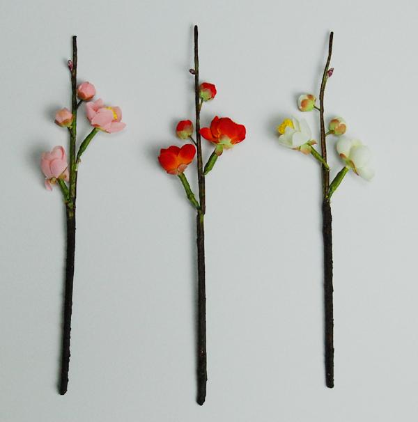 梅小枝 【造花】