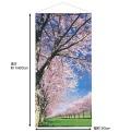 桜並木タペストリー 「防炎加工」 180x90cm