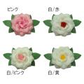 紙バラ徽章 花