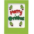 ジェルジェムグリーティングカード メリークリスマス