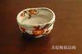 赤絵梅福良抹茶碗