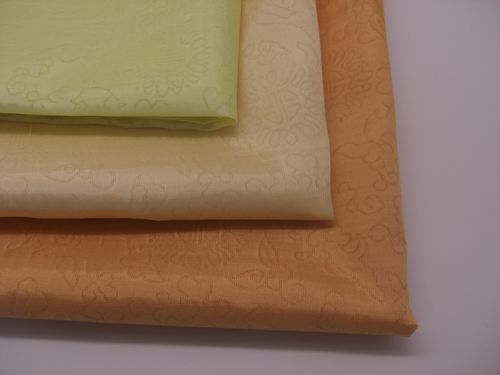 熟庫紗:スッコサ(織模様入り)【黄色系】