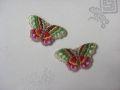 韓国刺繍【蝶(古典):010】