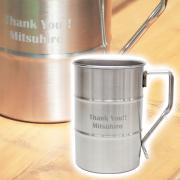 お父さんへの父の日プレゼント・ドラム缶マグ 名入れステンレスマグカップ