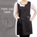 女性への贈り物や母の日に名入れ刺繍エプロン デッサン
