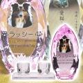 メモリアルクリスタル コーン ピンク PHOT用 仏器・茶湯器セット