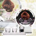 メモリアルクリスタル サークル PHOT用 手元供養+仏器・茶湯器セット