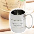 男性への贈り物や父の日に・タルマグ 名入れステンレス二重構造マグカップ Made in TSUBAME