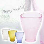 【結婚祝い・内祝いにピッタリ】泡立ちグラス BeerHeart