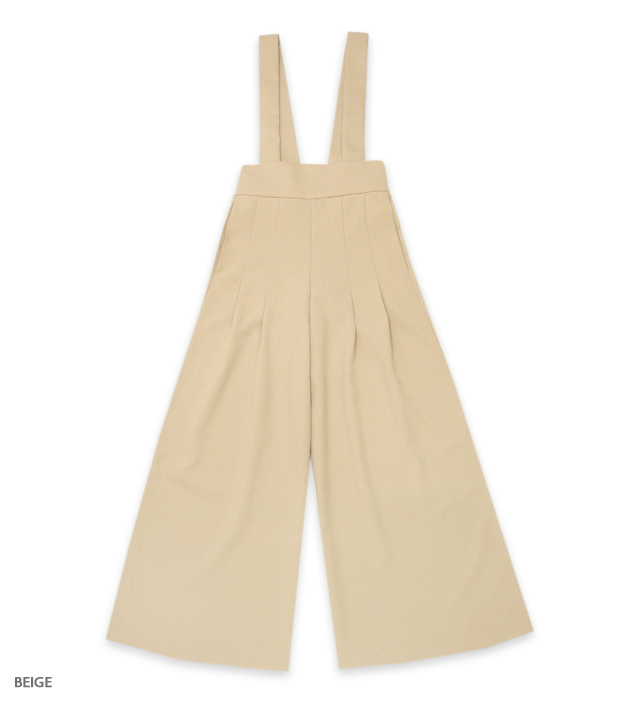 CAFE CHIC high-waist buggy pants
