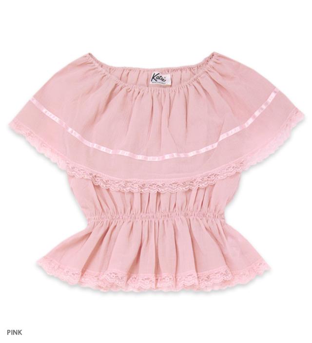 ASHBURY lacy blouse