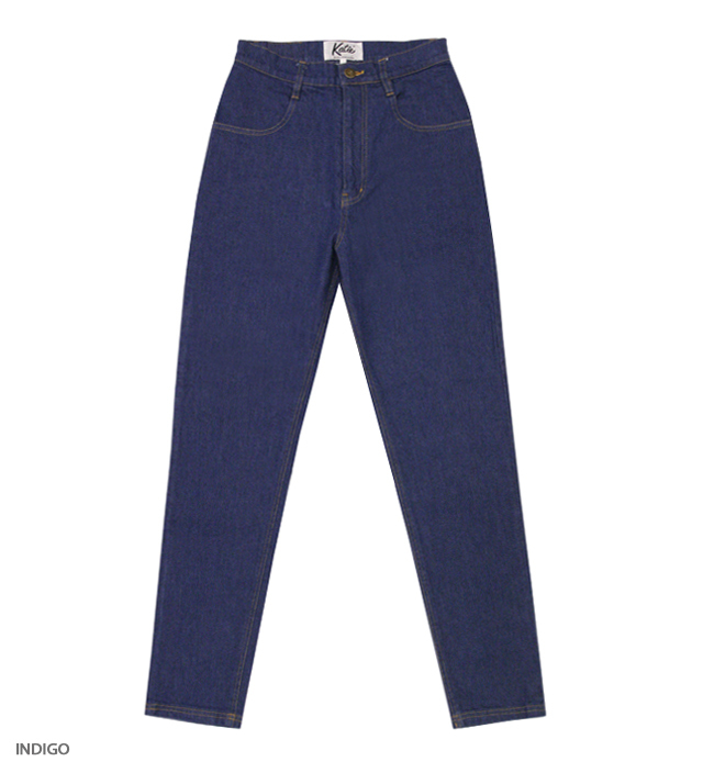 KATIE JEANS high-waist pants