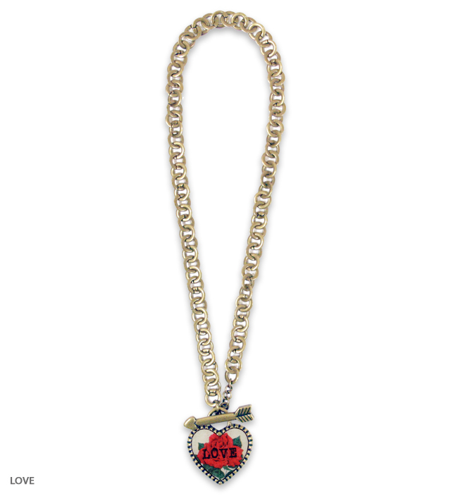 SWEET HEART big heart necklace