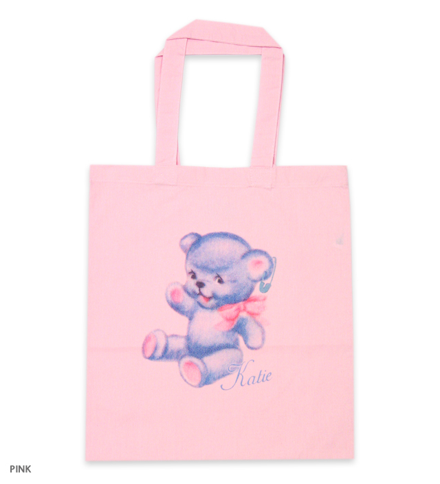 BABY BEAR cotton tote