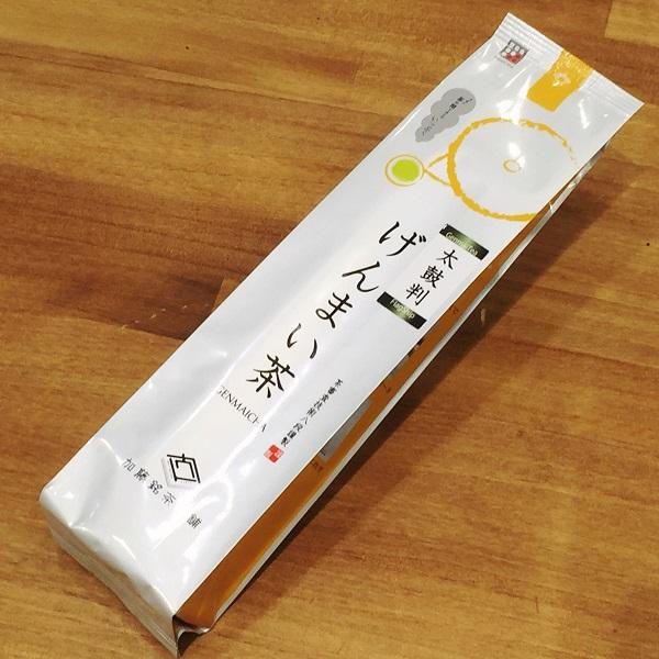 【雁ヶ音玄米茶】おいしいかりがね玄米茶200g