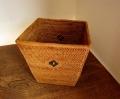 アタ製 角型くずかごボックス(黒モチーフ入り)AT098