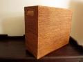 アタ製マガジンボックス(A4・雑誌サイズ/平編み・持ち手付き/幅約14cmタイプ)AT109