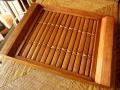 バンブー(竹)製トレイ(長方形)BW001