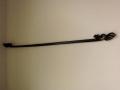 イカットハンガー80(ブラック/アラベスク/80cm)IH005