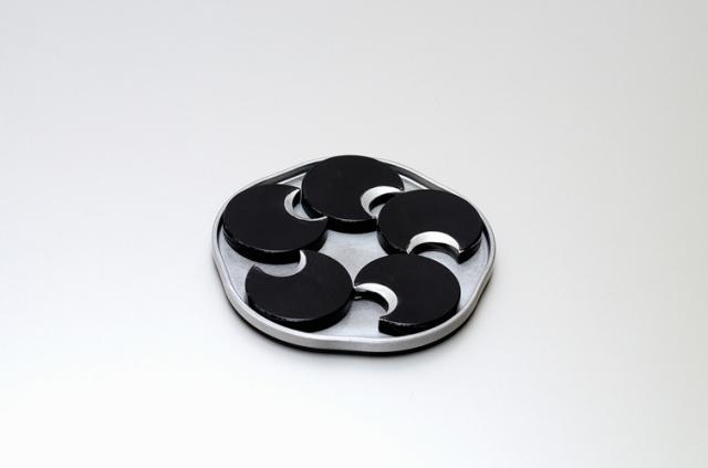 丸箸置セット(黒)