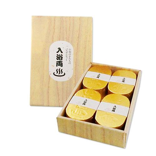 小判型バスボム入浴両(4個入り)