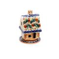 ポーランド陶器 キャンドルホルダー