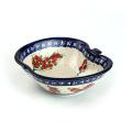 ポーランド陶器 りんごボウル