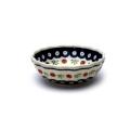 ポーランド陶器 菊鉢φ12cm