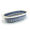 ポーランド陶器 オーブン皿・オーバル・小