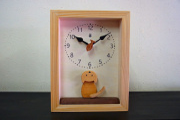 5d14808879 木の振子時計 【仔猫の時計】 PICKUP