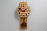 2b3274606f 木の振子時計 【丸型時計】 PICKUP