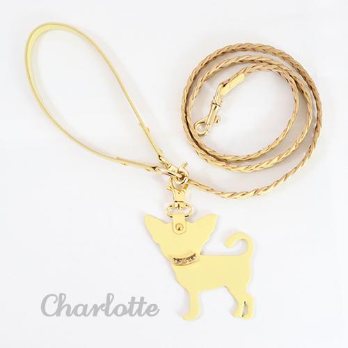 犬 リード Charlotte 1st イエロー