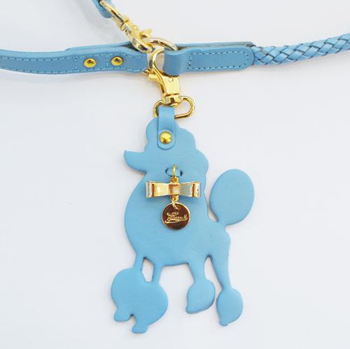 犬 リード ブルー プードル