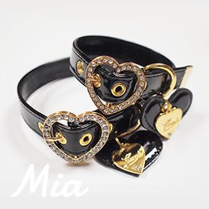 【アウトレット】【Mia】首輪 ブラック S~XL