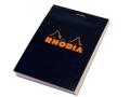 メモの定番 RHODIA ロディア ブロックロディア ブラック No.12 (品番:cf122009)
