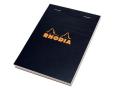 メモの定番 RHODIA ロディア ブロックロディア ブラック No.13 (品番:cf132009)