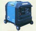 北越工業 防音・インバータ発電機 HP2400SV-A1(4輪キャスター付)