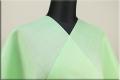 本麻長襦袢 滋賀麻 オーダー仕立付き! 麻100% 緑 ◆男女兼用◆
