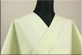 絹木綿着物 オーダーお仕立付き 洗える普段着着物 広幅 万筋C メロン色◆男女兼用◆