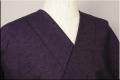 三河木綿 オーダーお仕立付き 洗える普段着着物  厚地 No.09 暗紫系 ◆男女兼用◆