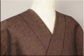 三河木綿 オーダーお仕立付き 洗える普段着着物  厚地 No.12 黄紫系 ◆男女兼用◆